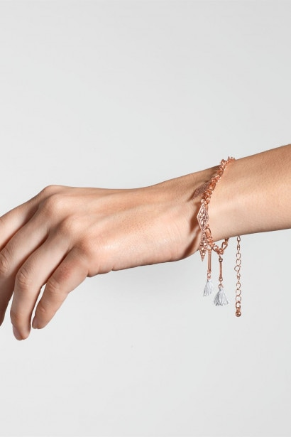 Firetrap Tassel Bracelet Ladies