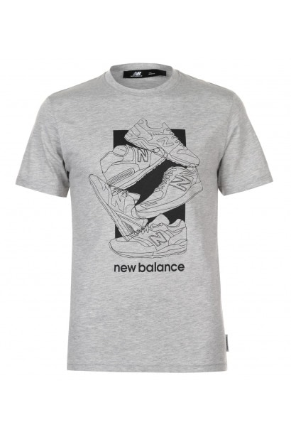 1fbe51cd5c New Balance 5 Shoe QTT T Shirt Mens