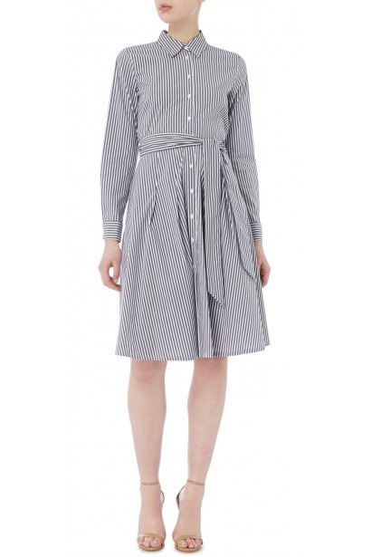 Emme Cicogna fit and flare shirt dress