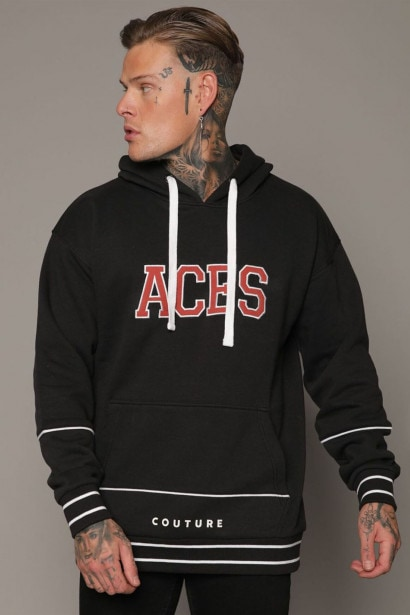 Aces Couture College Hoodie Mens