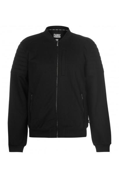 Fabric Biker Bomber Jacket