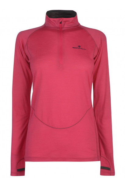Ron Hill Infinity High Zip Top Ladies