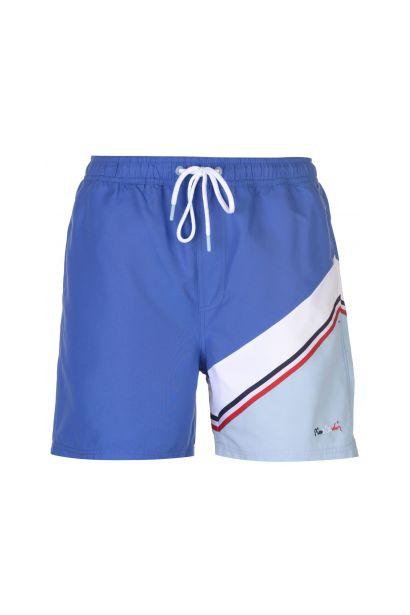 Pierre Cardin Diagonal Stripe Swim Shorts Mens