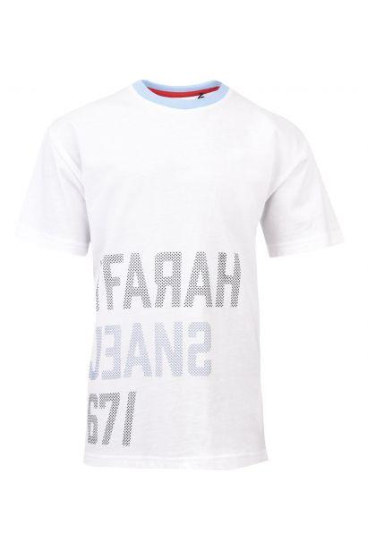 Farah Vintage Long Line T Shirt