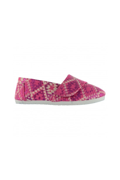 Miss Fiori Sams Infant Girls Canvas Shoes