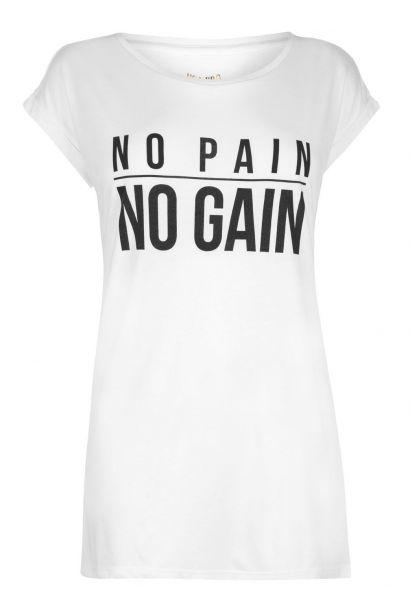 USA Pro Slogan T Shirt Ladies