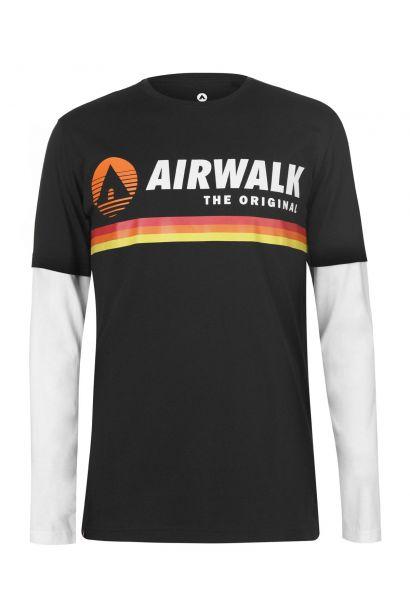 Airwalk Originals Layer T Shirt Mens