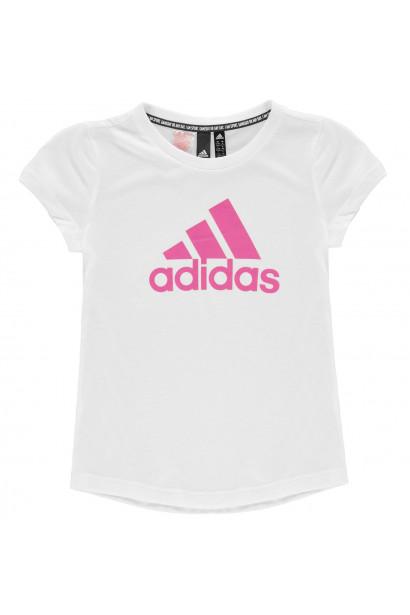 Adidas BOS T Shirt Junior Girls
