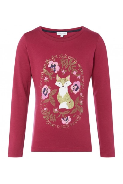 Rose and Wilde Fenella Fox In Floral T Shirt