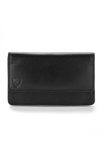 Aspinal of London Black Business  And  credit card case