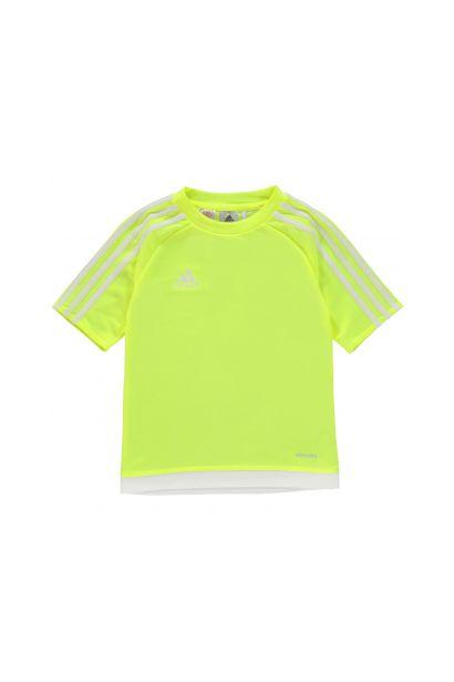 b0d764dd12 Adidas 3 Stripe Sereno T Shirt Junior Boys