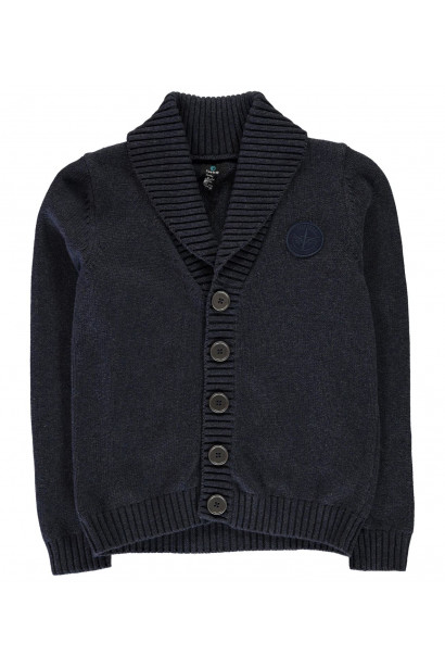 Firetrap Long Line Cardigan Junior Boys