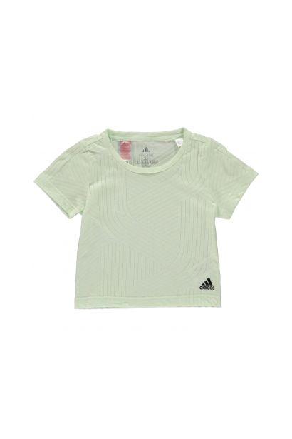 Adidas AeroKnit T Shirt Junior Girls