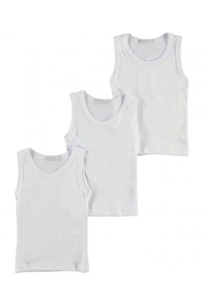 Crafted Essentials 3 Pack Vests Child Boys