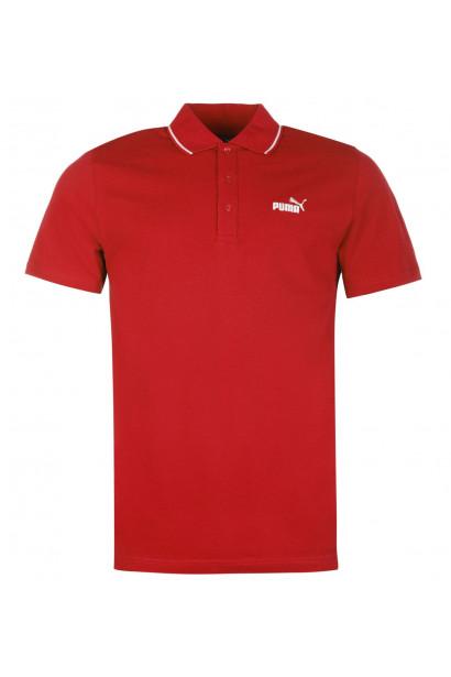 Puma No 1 Logo Pique Polo Shirt Mens