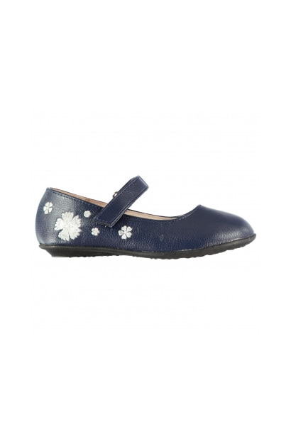 Crafted Infant Girls Flower Shoes