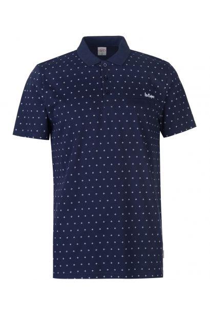 Lee Cooper AOP Polo Shirt pánské