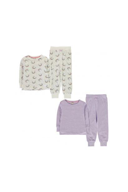 Crafted Essentials 2 Pack Design Pyjamas Infants