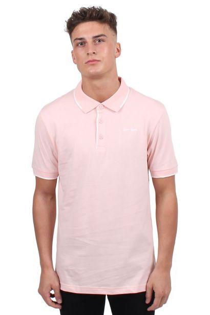 Gio Goi Contrast Polo Shirt