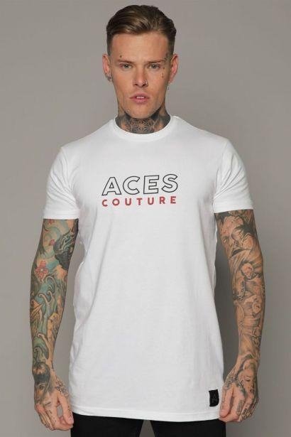 Aces Couture Core Logo T Shirt Mens