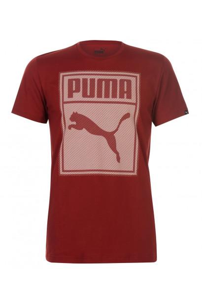 Puma Box QT T Shirt Mens