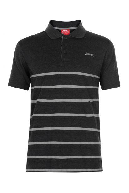 698ca43a40b0 Slazenger Jaquard Polo Shirt Mens
