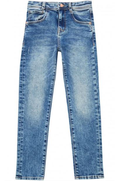 Rose and Wilde Girls Light Denim Slim Fit jeans