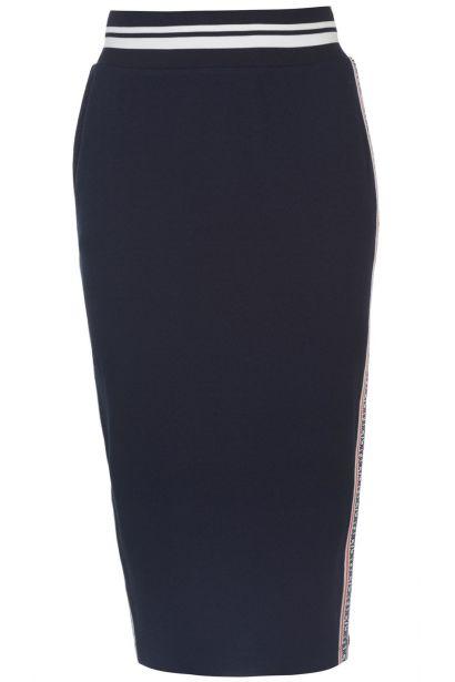 Juicy Textured Midi Skirt