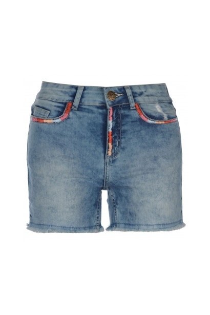 SoulCal Embroidered Shorts Ladies