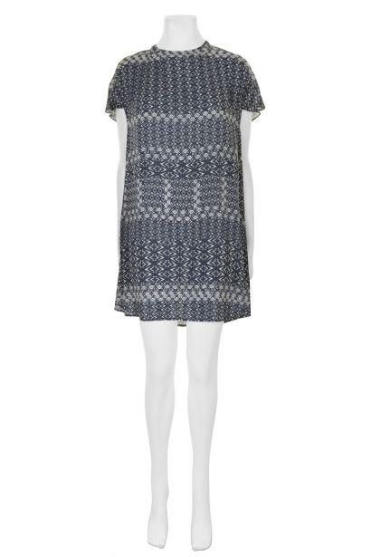 Velvet Draped Dress