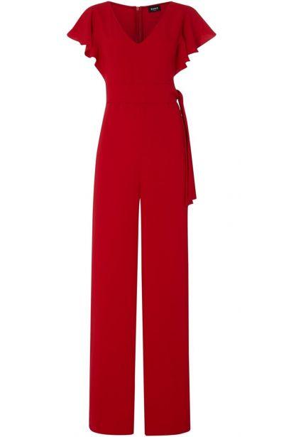 Emme Corona ruffle short sleeve jumpsuit