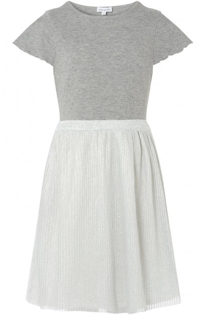Rose and Wilde Clover Pleated Dress Two In One