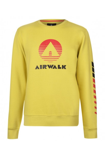 Airwalk Retro Sweater Mens