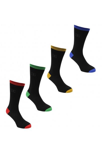 Giorgio 4 Pack High Socks Junior
