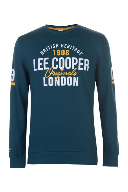 Lee Cooper Bright Crew Sweater Mens