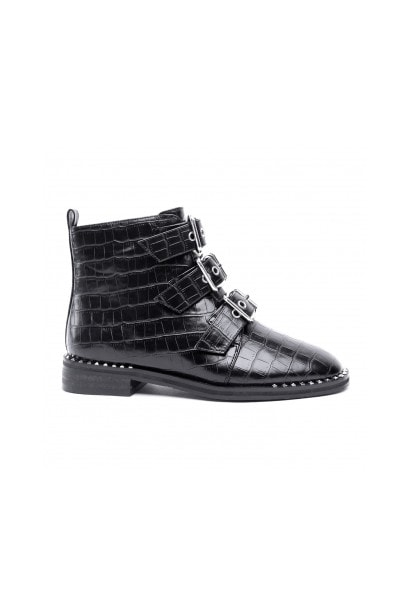 Glamorous Front Buckle Boots
