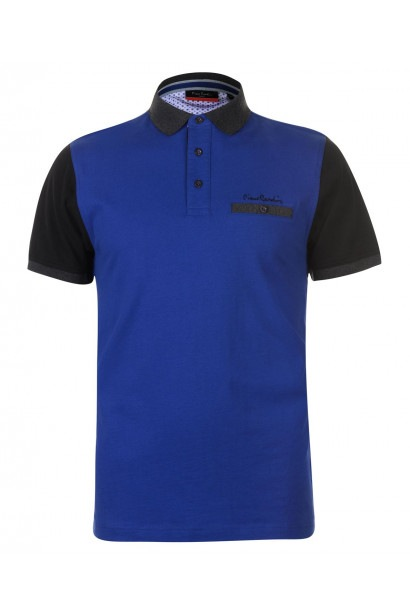 Pierre Cardin Contrast Polo Shirt Mens