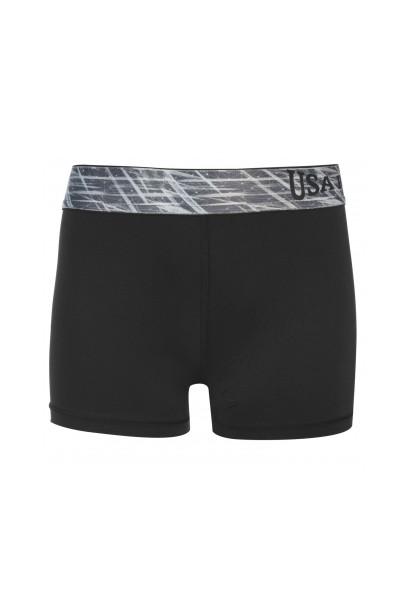 USA Pro 3 Inch Training Shorts Junior Girls