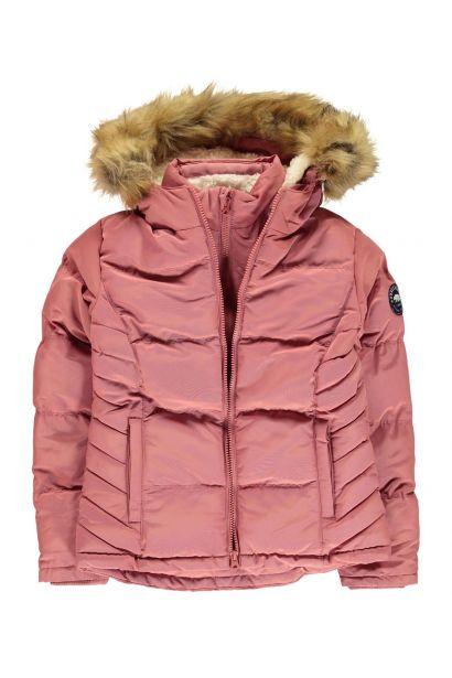 e8157bba44 SoulCal Girls 2 Zip Bubble Jacket Junior