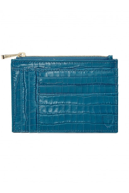 Aspinal of London Double Sided Zip Card Holder