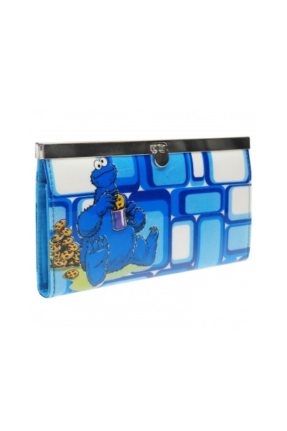 Character Sesame Street Cookie Monster Wallet Junior Girls