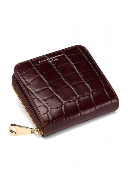 Aspinal of London Mini continental zipped coin purse