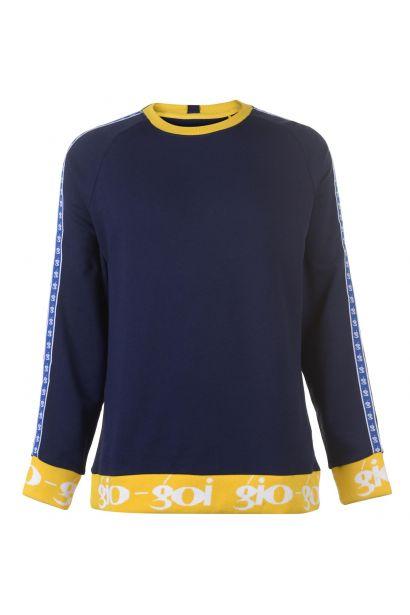 mikina Gio Goi Contrast Sweatshirt