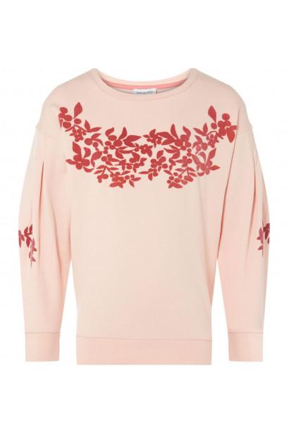 Rose and Wilde Drop Sleeve Floral Sweatshirt