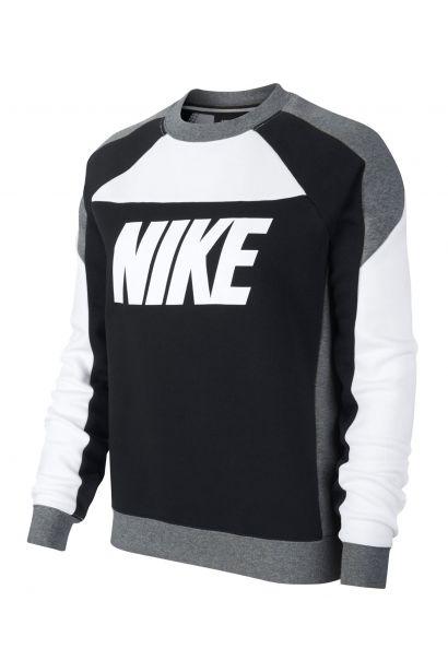 various colors da002 2037e Nike Colour Block Crew Sweatshirt Ladies