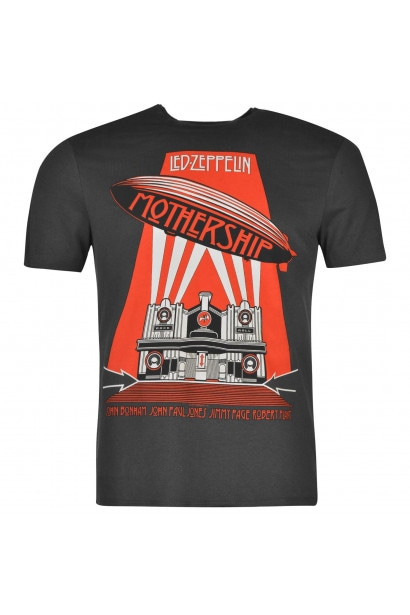 Amplified Clothing Led Zeppelin T Shirt Mens