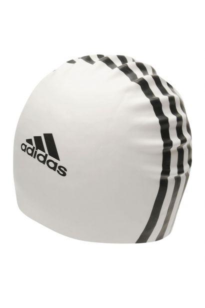 Adidas 3 Stripe Silicone Swim Cap