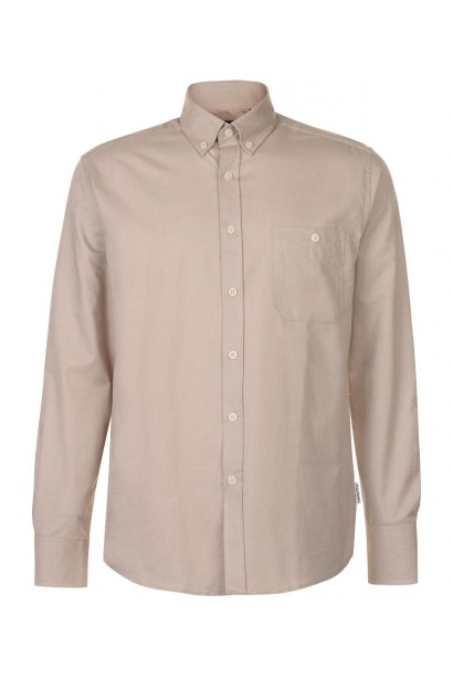 Pierre Cardin Oxford Long Sleeve Shirt pánske