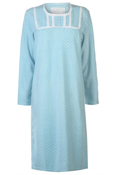 Cote De Moi Fleece Night Dress Ladies
