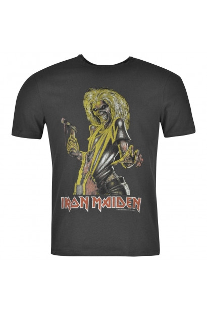 Amplified Clothing Iron Maiden T Shirt Mens